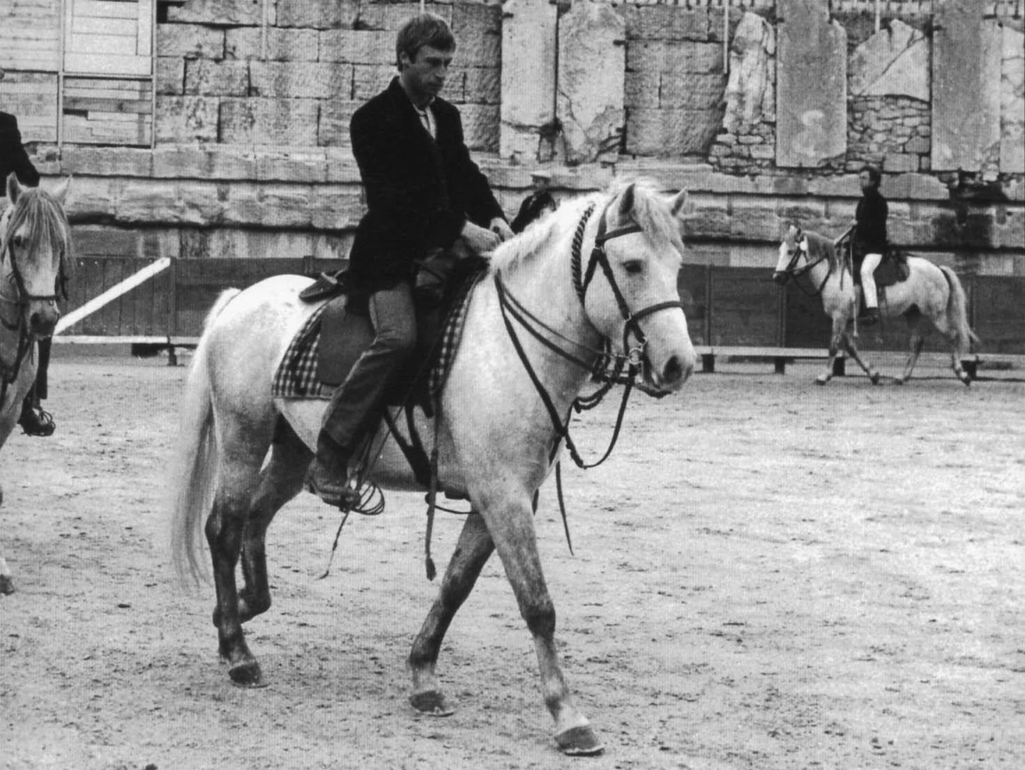 Bernard Roche in der Arena von Arles