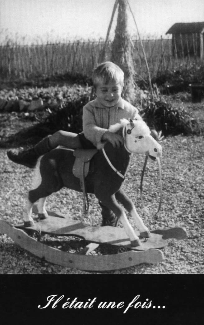 Das erste Pferd von Bernard Roche
